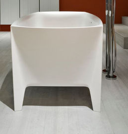 Rectangle Freestanding Whirlpool Bathtubs Stain Resistant Long Life Span